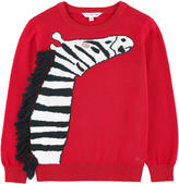 Little Marc Jacobs Graphic sweater with bobbles