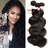 BP Brazilian Hair Body Wave Top Quality Human Weave 3 Bundles 7A Brazilian Virgin Hair Extensions (8 10 12)