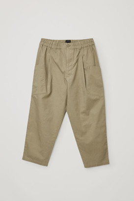 Cos Organic Cotton-Hemp Mix Angled Pocket Pants