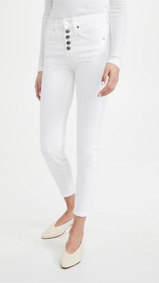 Veronica Beard Jeans Debbie High Rise Skinny Ankle Jeans