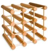 J.K. Adams MWR-B12-N Hardwood Wine Rack