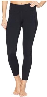 Prana Momento 7/8 Leggings (Black) Women's Workout