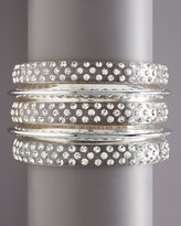 Crystal Bangles, Set of Five