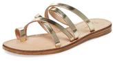 Seychelles Rosie Metallic Leather Strappy Sandal
