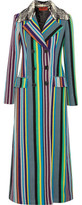 Missoni Striped Wool-Blend Coat