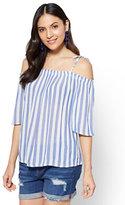 New York & Co. Soho Soft Shirt - Off-The-Shoulder Blouse