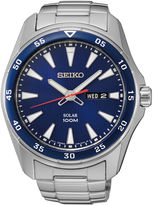 Seiko Mens Stainless Steel Solar Watch SNE391