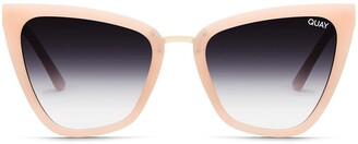 Quay Reina 51mm Gradient Cat Eye Sunglasses