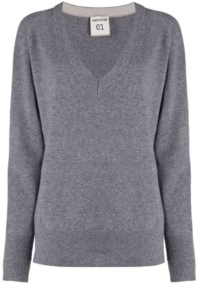 Semi-Couture V-neck sweater