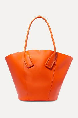 Bottega Veneta Basket Leather Tote - Orange