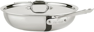 All-Clad Stainless Steel 4-Qt Weeknight Pan with Lid