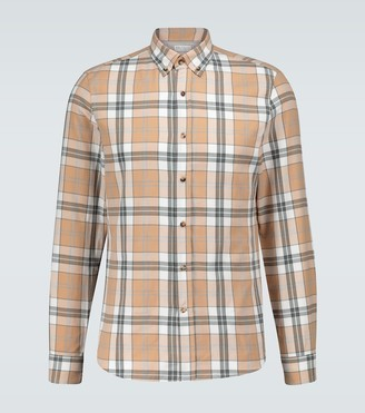 Brunello Cucinelli Flannel checked shirt