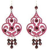 "Tarina Tarantino Classic"" Boudoir Chandelier Style Earrings"