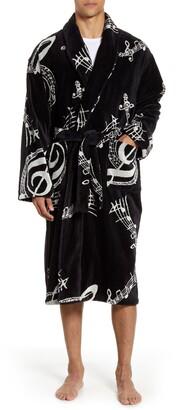 Majestic International Terry Velour Robe
