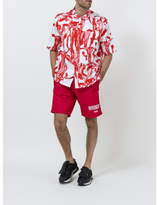 Givenchy Logo Swimshorts - Red - Size XL