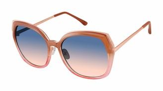 Laundry by Design Women's LD292 UV Protective Geometric Sunglasses