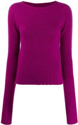 Lemaire fine knit boat neck jumper