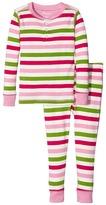 Hatley Holiday Stripe Henley Pajamas (Toddler/Little Kids/Big Kids)