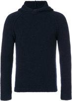 Giorgio Armani knit hoodie