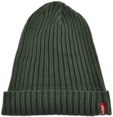 Levi's Levis Ribbed Beanie Hat Green
