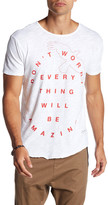 Kinetix Don't Worry Front Graphic Print Tee