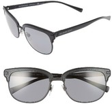 Burberry Women's 56Mm Polarized Sunglasses - Matte Black