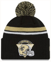 New Era New Orleans Saints Diamond Stacker Knit Hat