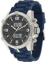 Tommy Hilfiger Ana-digi Silicone Navy Dial Men's watch #1790784