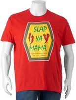 Big & Tall Slap Ya Mama Cajun Seasoning Sauce Tee