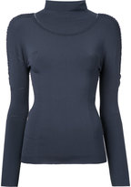 Issey Miyake Airy A-POC top - women - Polyester - One Size