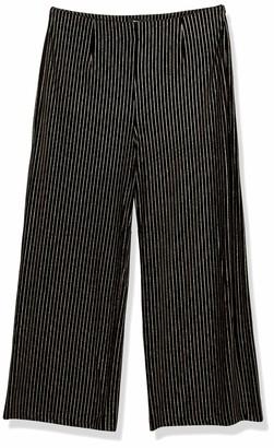 Forever 21 Women's Plus Size Glitter Metallic Striped Pants