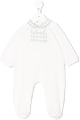 La Stupenderia Check-Trimmed Pyjamas