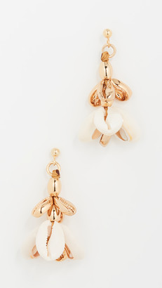 Tohum Multi Puka Shell Small Earrings
