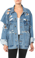 LAMBERT Distressed Denim Jacket