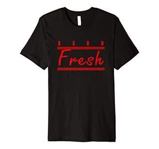 Born Fresh Red T-Shirt Sneaker Heads Basketball shoes fresh