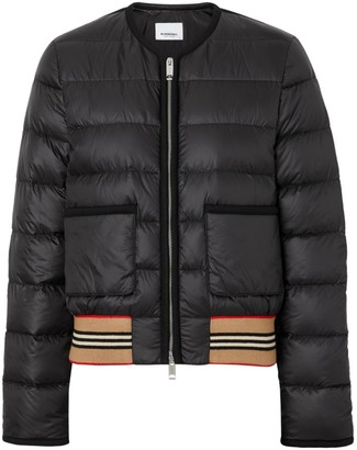 Burberry Bruntsfield Nylon Bomber Puffer Jacket