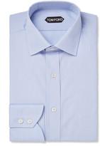 Tom Ford - Blue Slim-fit Cotton Shirt