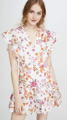 La Maison Talulah Jasmine Vines Mini Dress