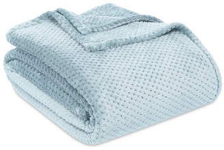 "Berkshire Shimmersoft Textured Honeycomb 108"" x 90"" King Bed Blanket Bedding"