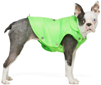 Misbhv Green Puffer Dog Jacket