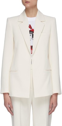 Victoria Victoria Beckham Pagoda shoulder tailored blazer