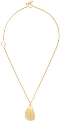 Jil Sander Gold Air Necklace
