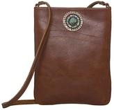 Leather Rock Pandora Cell Pouch (Brown) Cross Body Handbags