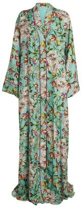 Dolce & Gabbana Floral Button-Up Dress