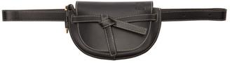 Loewe Black Mini Gate Bum Bag