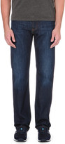 Armani Jeans Dark blue regular-fit stretch-denim jeans