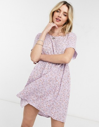 Cotton On Cotton:On babydoll dress in frosty lilac