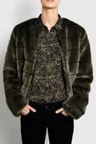 Minimum Faux Fur Jacket
