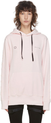 Alyx Pink Double Logo Hoodie