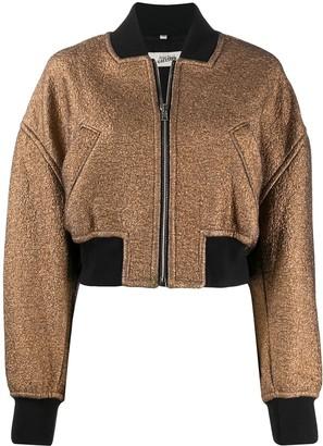 Jean Paul Gaultier Pre Owned 2000s Golden Bomber Jacket